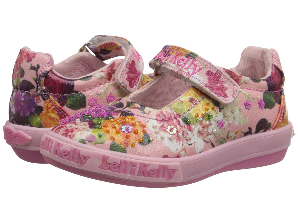 Lelli Kelly Kids - Bella Dolly (Toddler/Little Kid) (Pink Fantasy) Girls Shoes