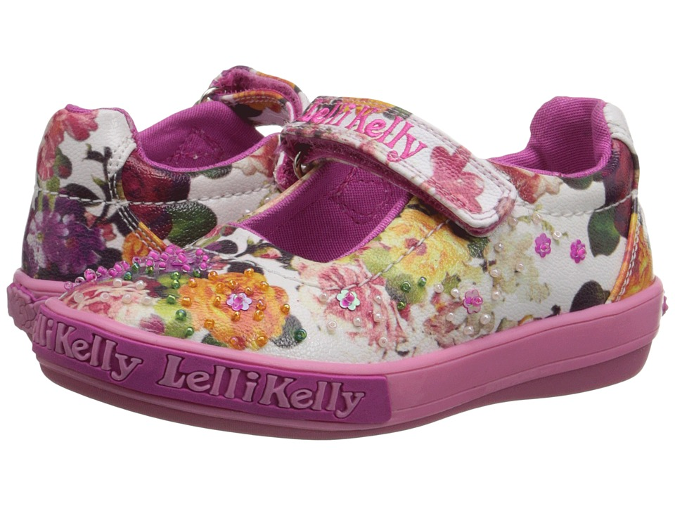 Lelli Kelly Kids - Bella Dolly (Toddler/Little Kid) (White Fantasy) Girls Shoes