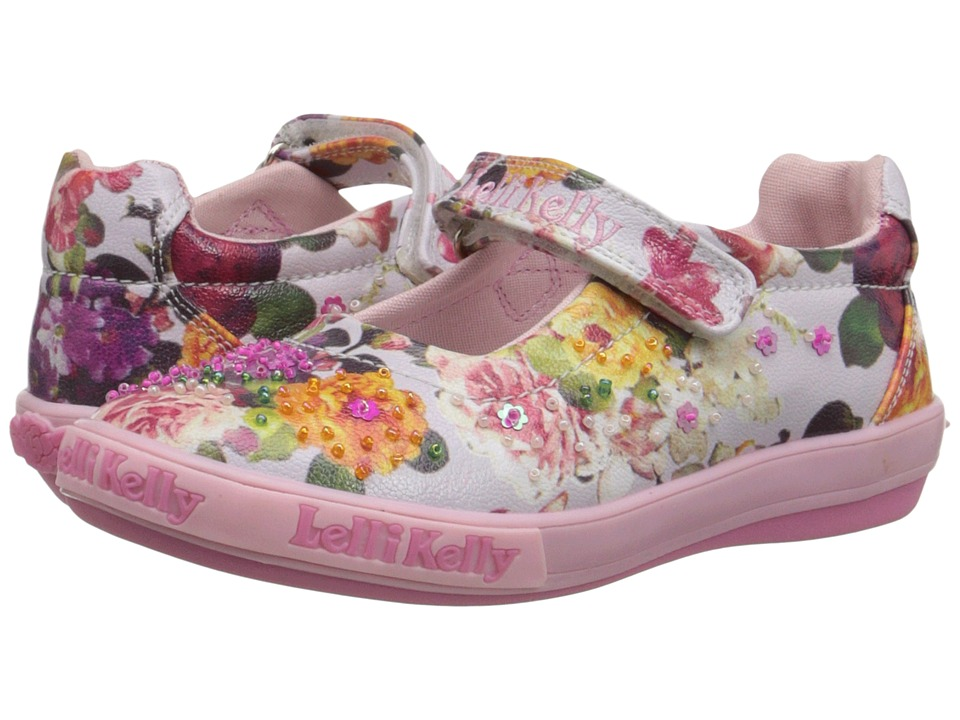 Lelli Kelly Kids - Bella Dolly (Toddler/Little Kid) (Fuchsia Fantasy) Girls Shoes