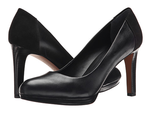 Franco Sarto - Sheena (Black Leather) High Heels