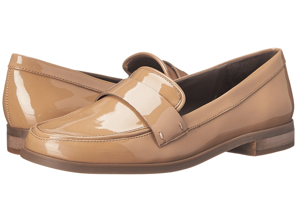 Franco Sarto - Valera (Dark Sand Patent) Women's Slip-on Dress Shoes