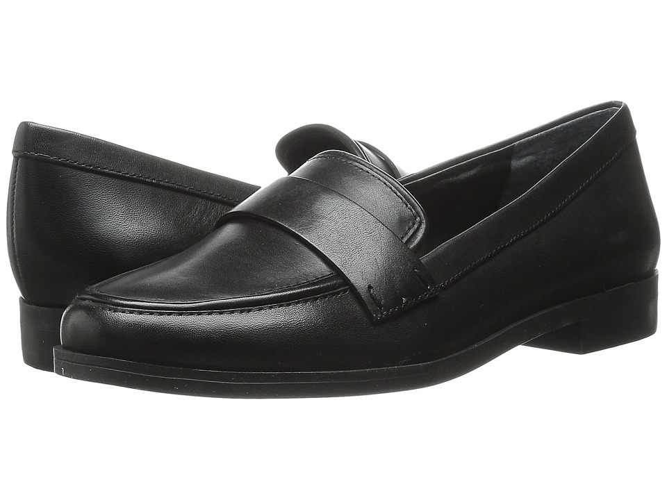 Franco Sarto - Valera (Black Leather) Women's Slip-on Dress Shoes