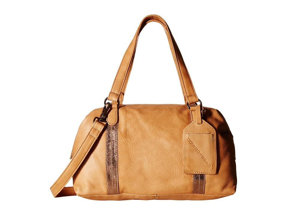 COWBOYSBELT - Abington (Nude) Satchel Handbags