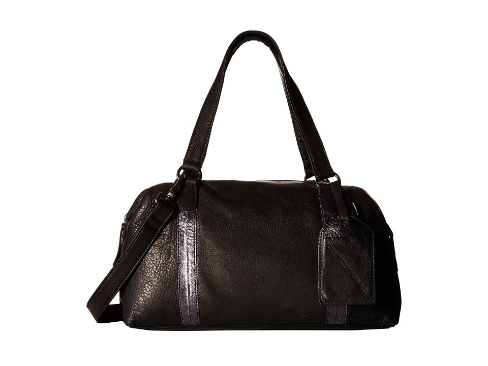 COWBOYSBELT - Abington (Black) Satchel Handbags