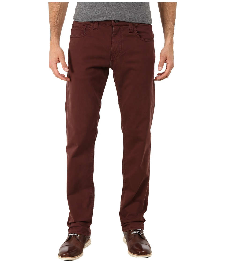 Mavi Jeans - Zach in Burgundy Twill (Burgundy Twill) Men's Casual Pants