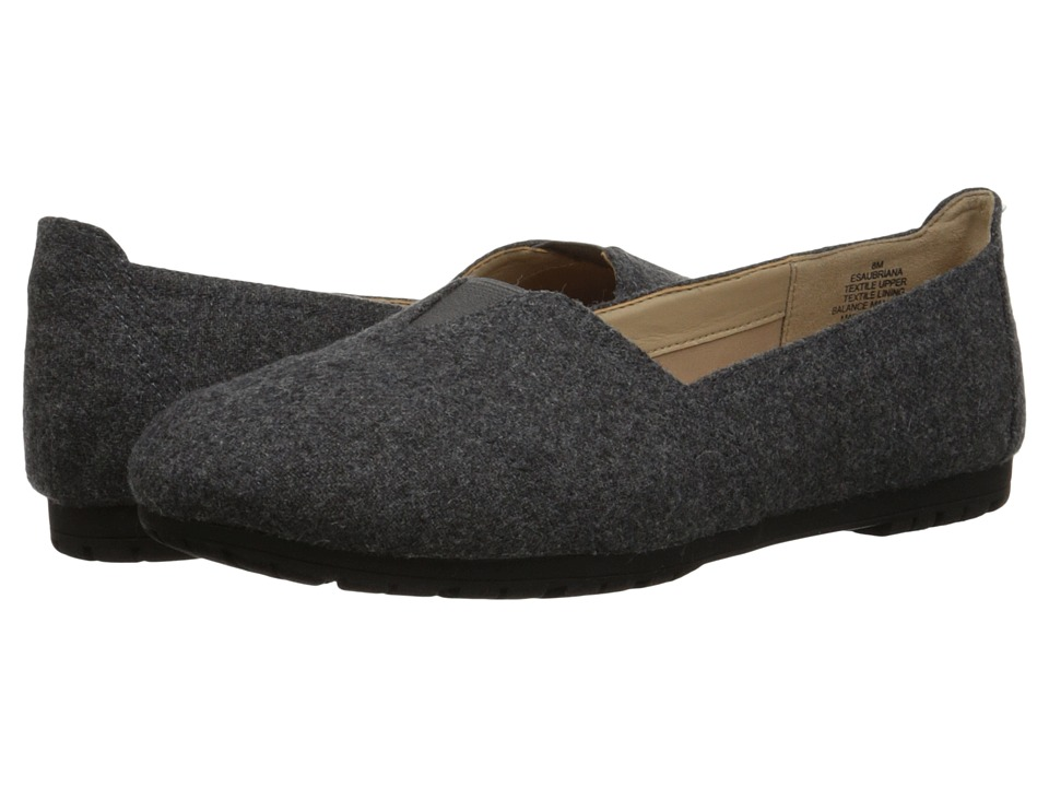 Easy Spirit - Aubriana (Dark Grey Multi Fabric) Women's Shoes