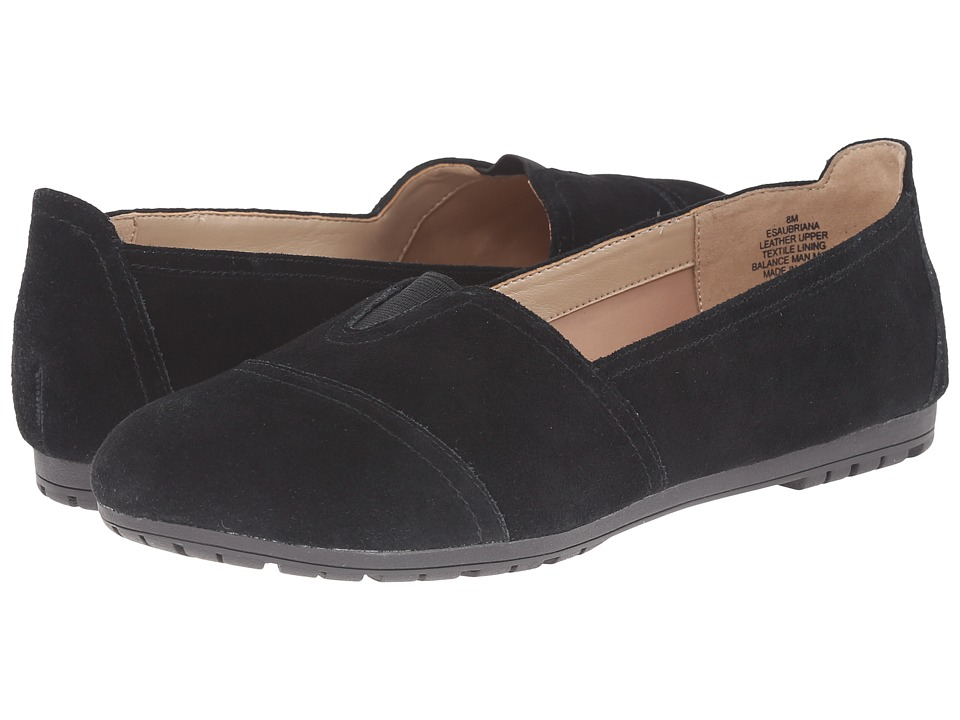 Easy Spirit - Aubriana (Black Multi Suede) Women's Shoes
