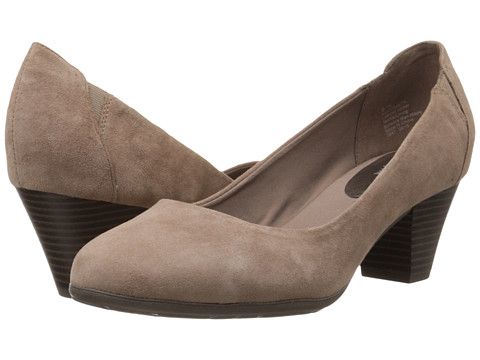 Easy Spirit - Coralyn (Dark Taupe/Dark Taupe Suede) Women's Shoes