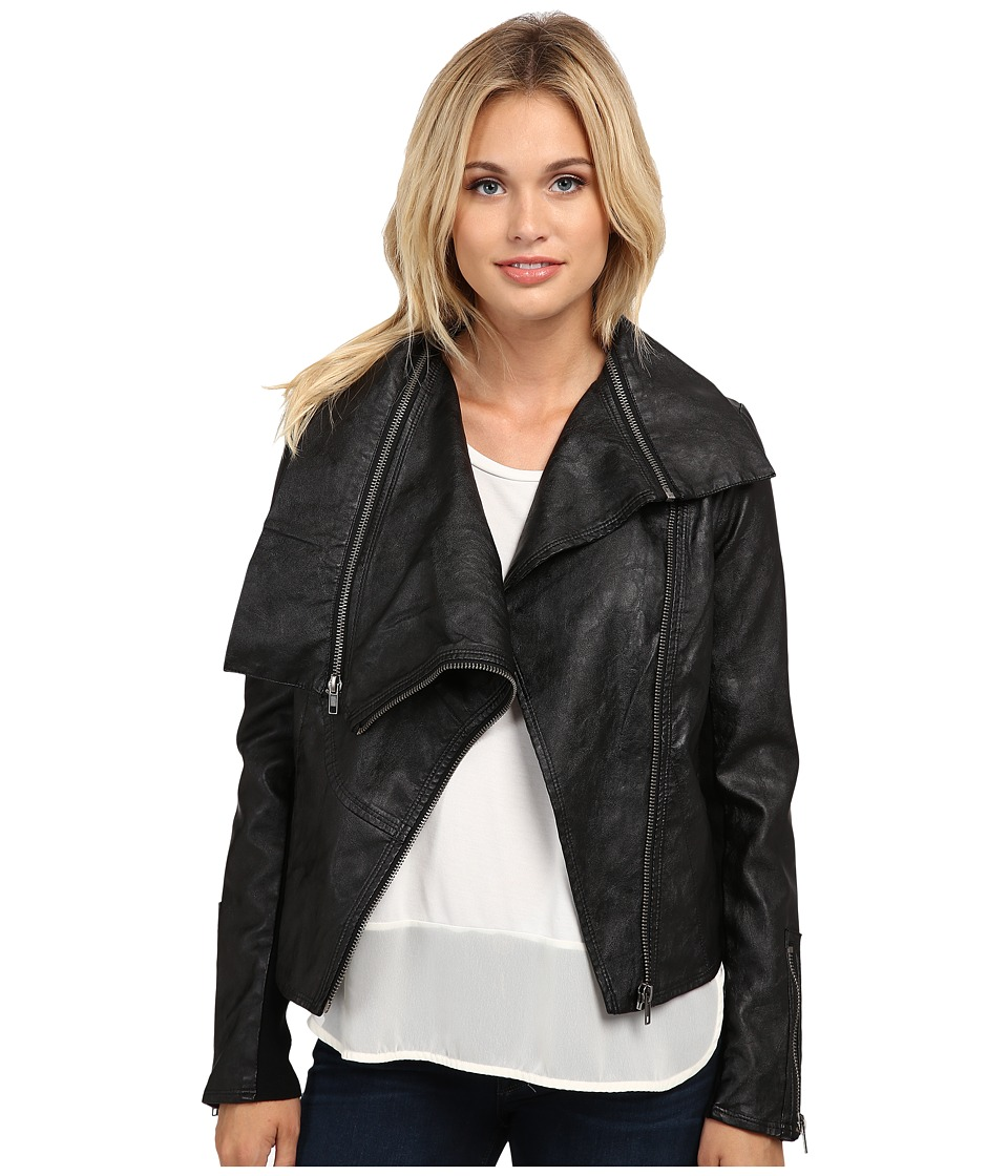 Blank NYC - Zip Jacket (Black) Women's Coat