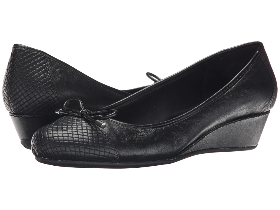 Easy Spirit - Davalyn (Black Multi Leather) Women's Shoes