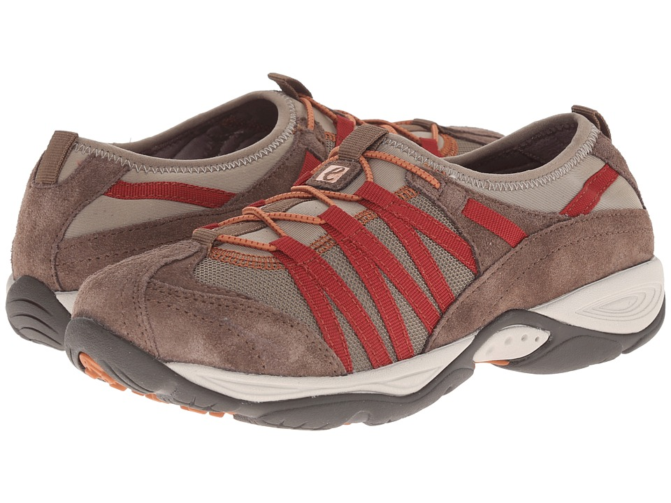 Easy Spirit - Ezrise (Dark Taupe Combo Fabric) Women