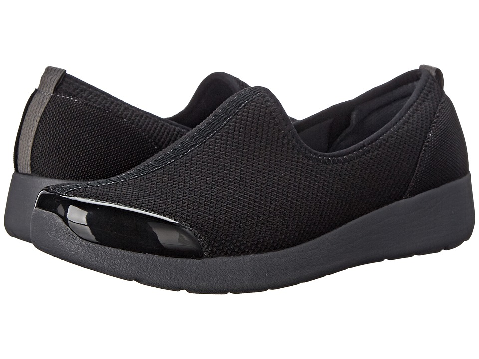 Easy Spirit - Funrunner (Black Multi Fabric) Women's Shoes