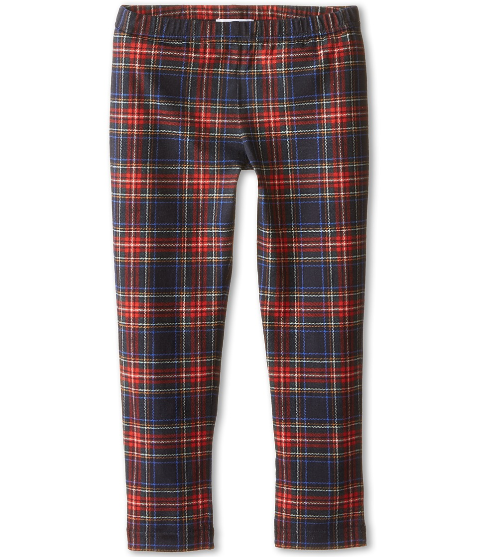 Dolce & Gabbana Kids - Back to School Plaid Leggings (Toddler/Little Kids) (Blue Plaid) Girl's Casual Pants