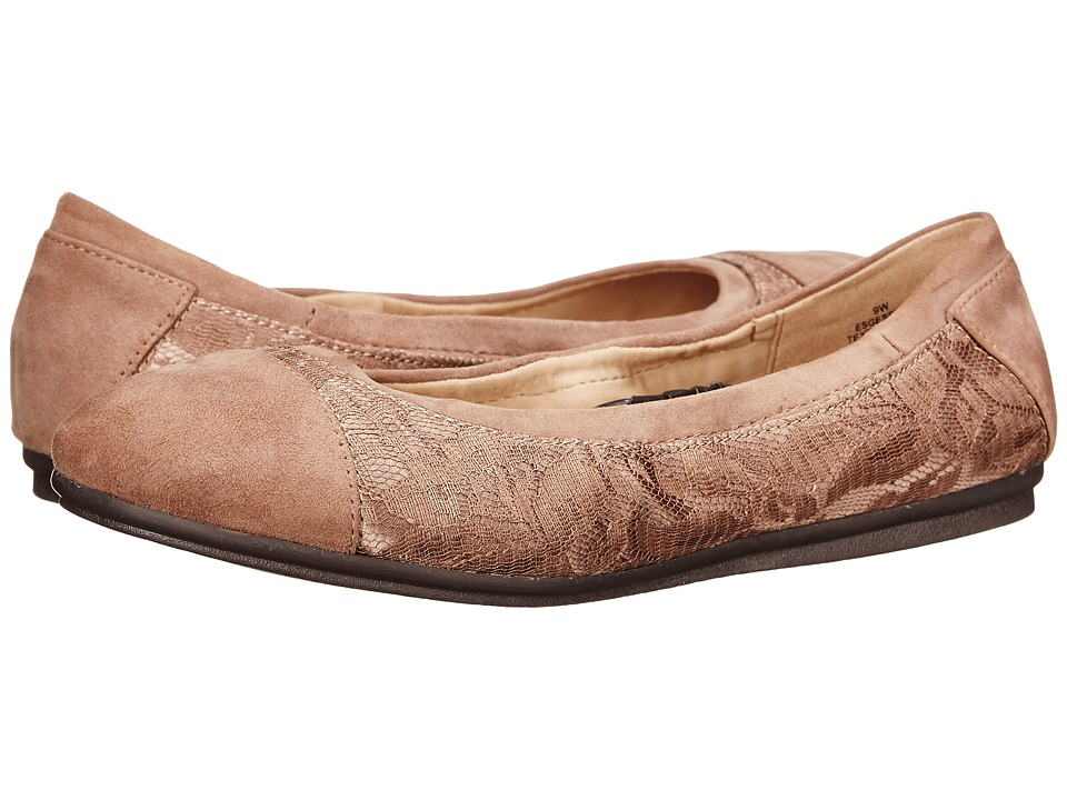 Easy Spirit - Gessica (Dark Taupe Multi Fabric) Women