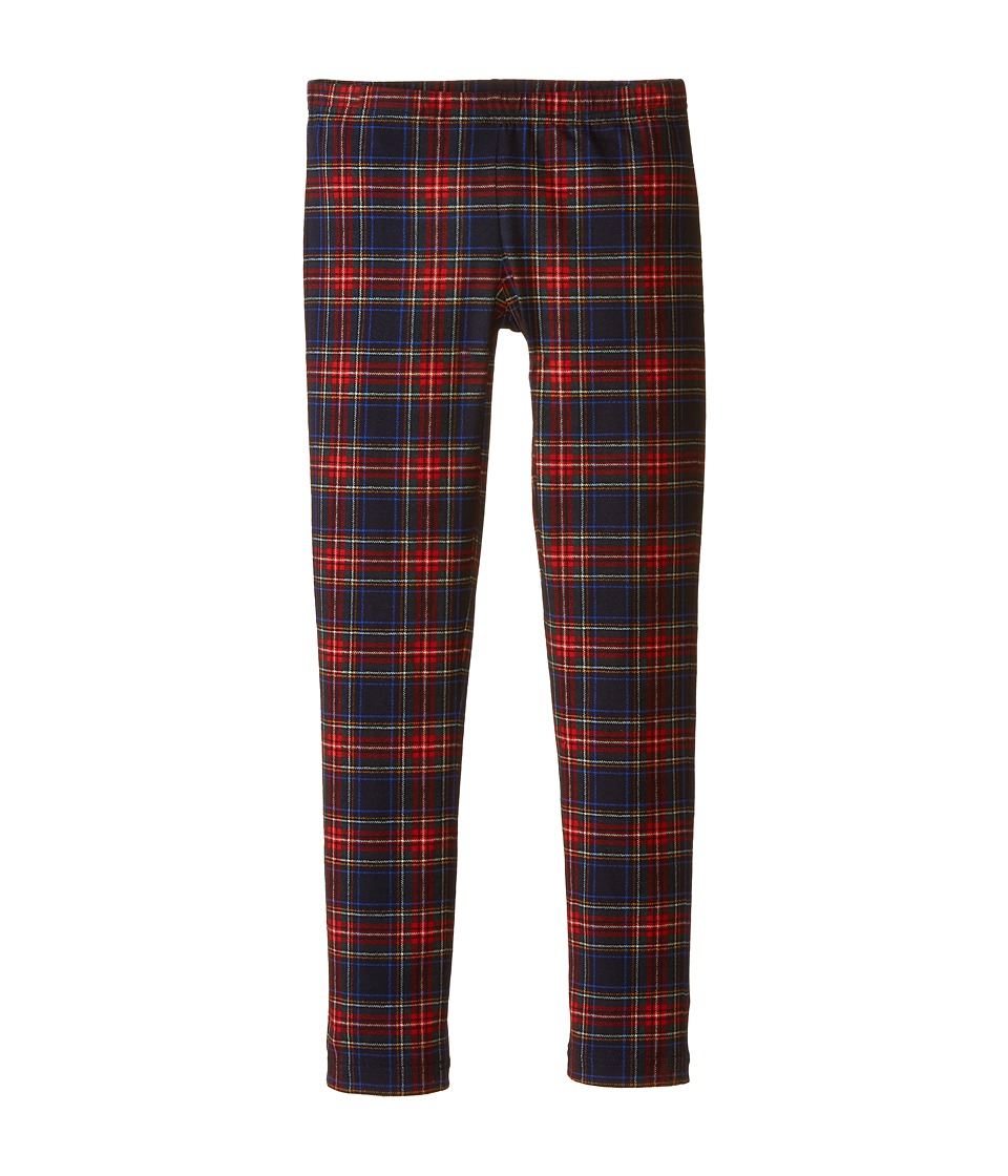 Dolce & Gabbana Kids - Back to School Plaid Leggings (Big Kids) (Blue/Plaid) Girl's Casual Pants
