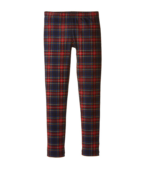 Dolce & Gabbana - Back to School Plaid Leggings (Big Kids) (Blue/Plaid) Women