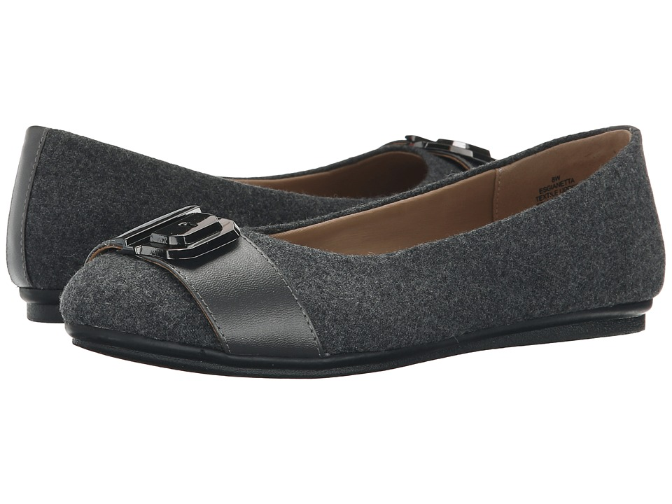 Easy Spirit - Gianetta (Grey Multi/Dark Pewter Fabric) Women's Shoes