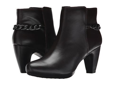 Easy Spirit - Parilynn (Dark Brown/Dark Brown Leather) Women