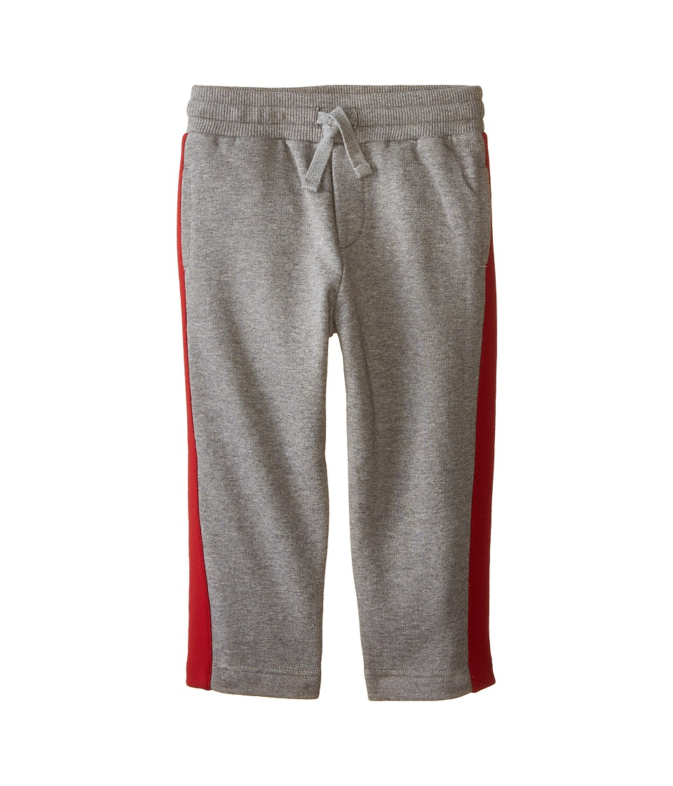 Dolce & Gabbana Kids - Side Stripe Sweatpants (Toddler/Little Kids) (Grey Melange) Boy's Casual Pants