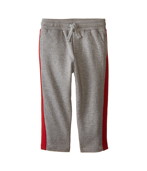 Dolce & Gabbana - Side Stripe Sweatpants (Toddler/Little Kids) (Grey Melange) Men