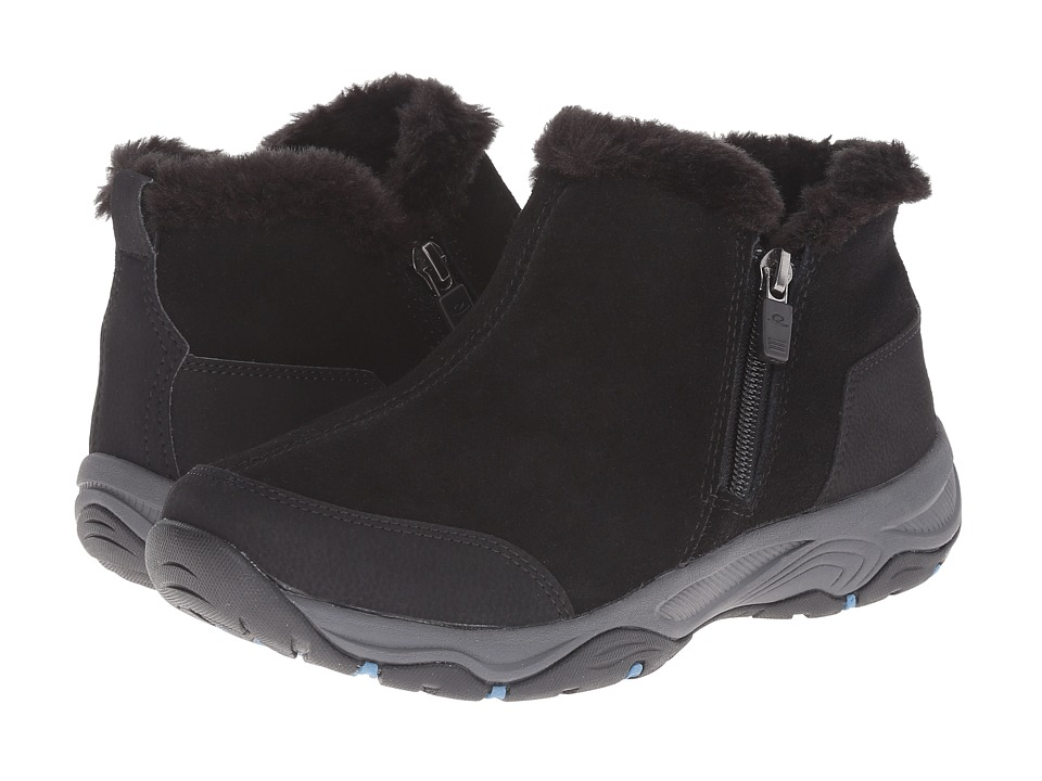 Easy Spirit - Prisco (Black Multi Suede) Women's Shoes