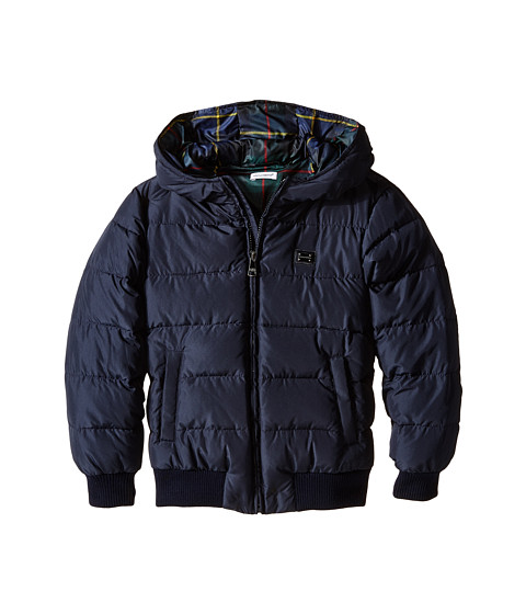 Dolce & Gabbana - Short Down Jacket (Big Kids) (Very Dark Blue) Men's Coat
