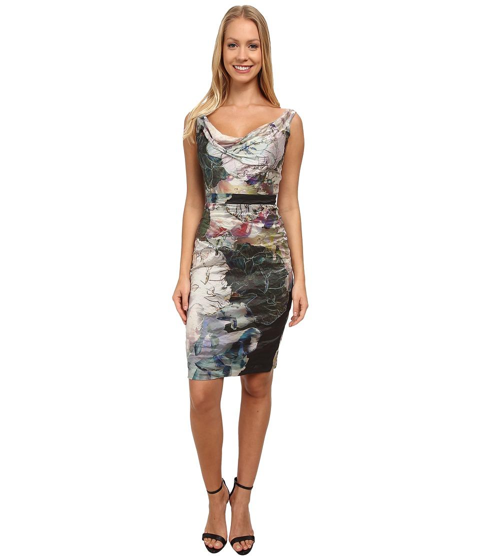 Nicole Miller - Flora Metal Date Night Dress (Multi) Women