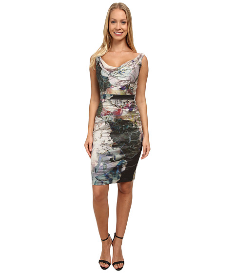 Nicole Miller - Flora Metal Date Night Dress (Multi) Women's Dress