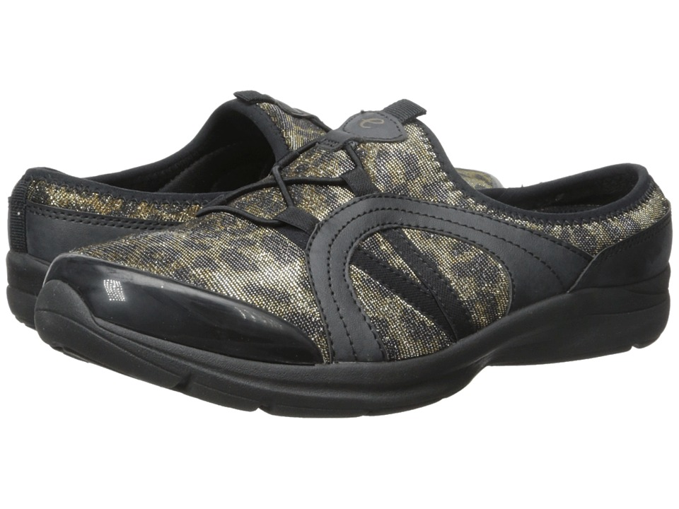 Easy Spirit - Quade (Black/Brown Multi Fabric) Women's Shoes