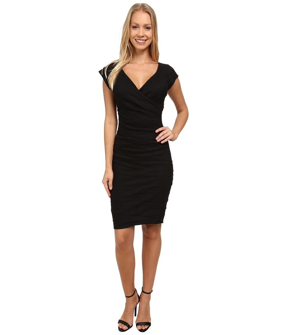 Nicole Miller Beckett Classic Dress (Black) Women