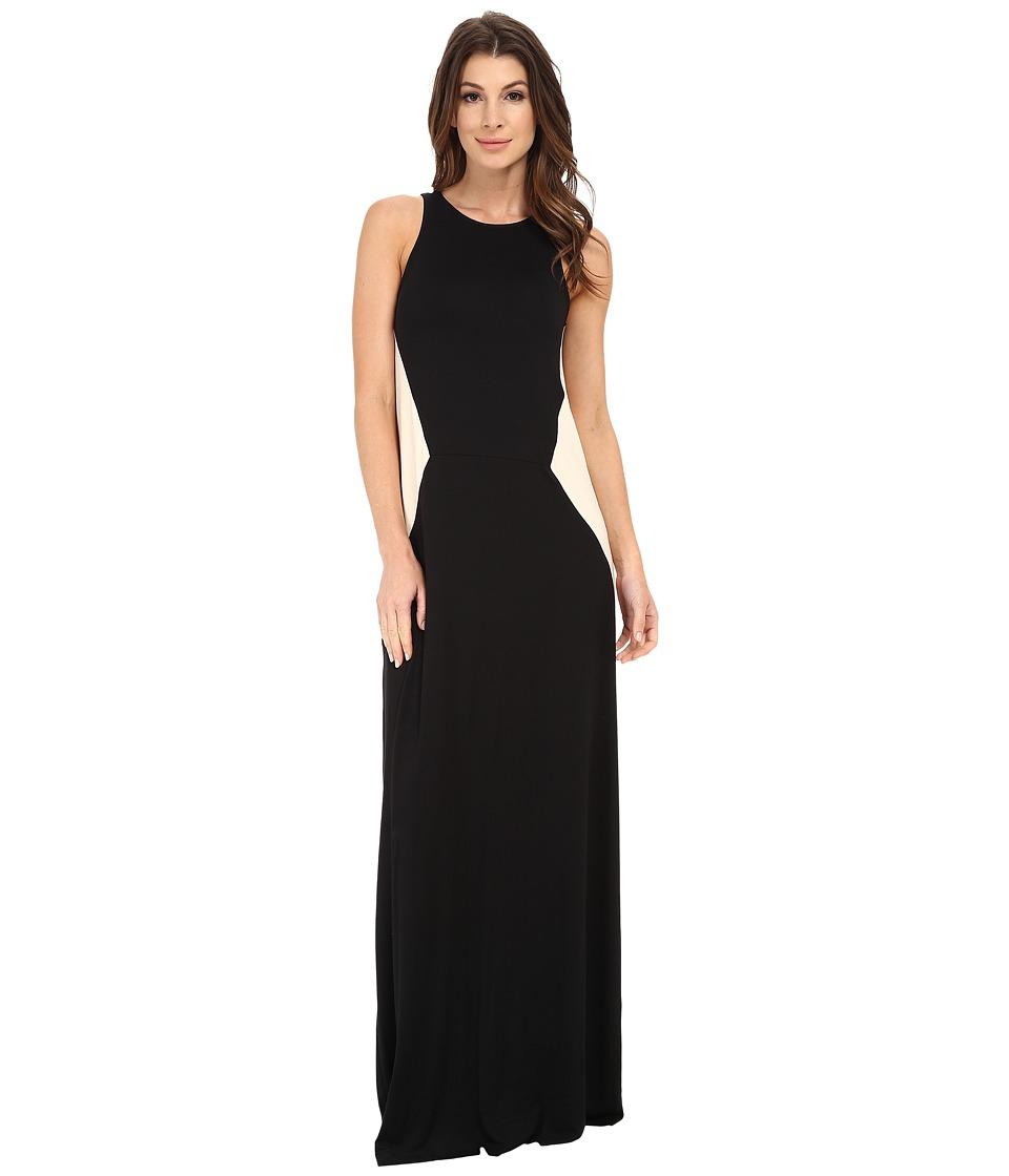 Rachel Pally - Janna Two-Tone Dress (Black/Cream Color Block) Women's Dress