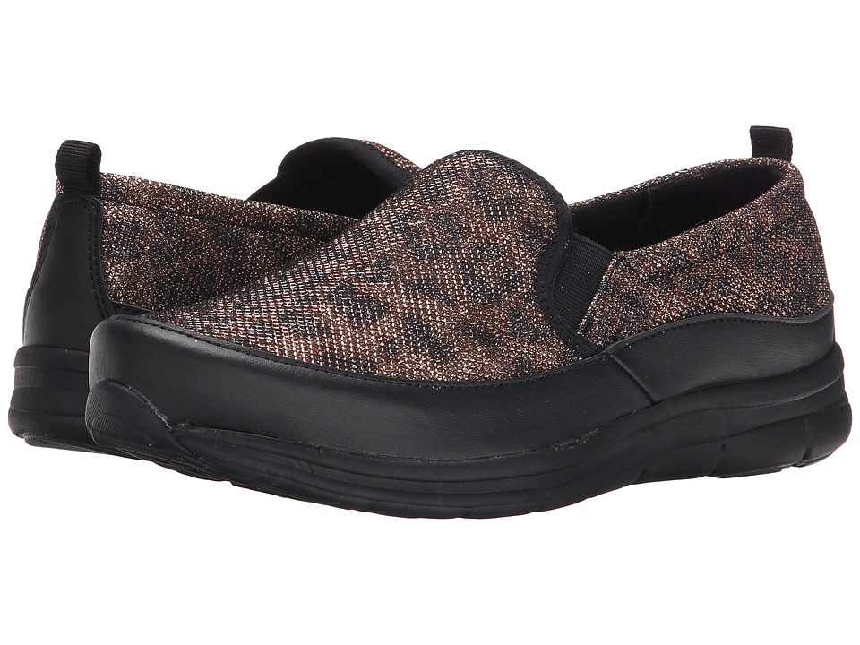 Easy Spirit - Sammi (Black/Brown Multi/Black Fabric) Women's Shoes