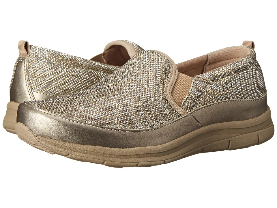 Easy Spirit - Sammi (Gold/Gold Fabric) Women