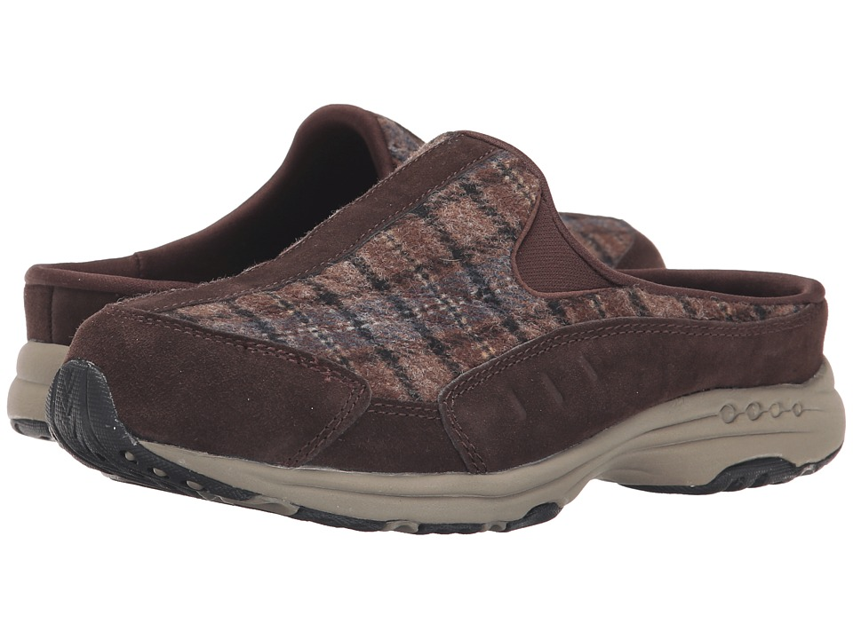 Easy Spirit - Traveltime (Dark Brown/Dark Brown Multi Suede) Women