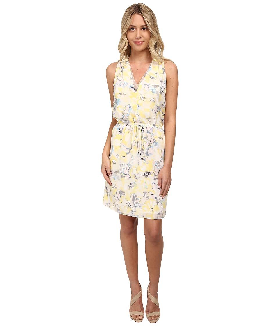 Rebecca Taylor - Sleeveless Aloha V-Neck Dress (Limon) Women's Dress