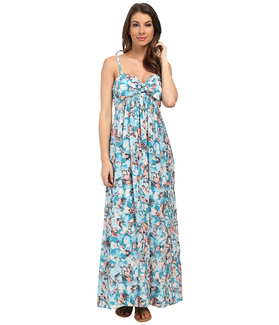 Rebecca Taylor - Sleeveless Aloha Cami Dress (Poolside) Women's Dress
