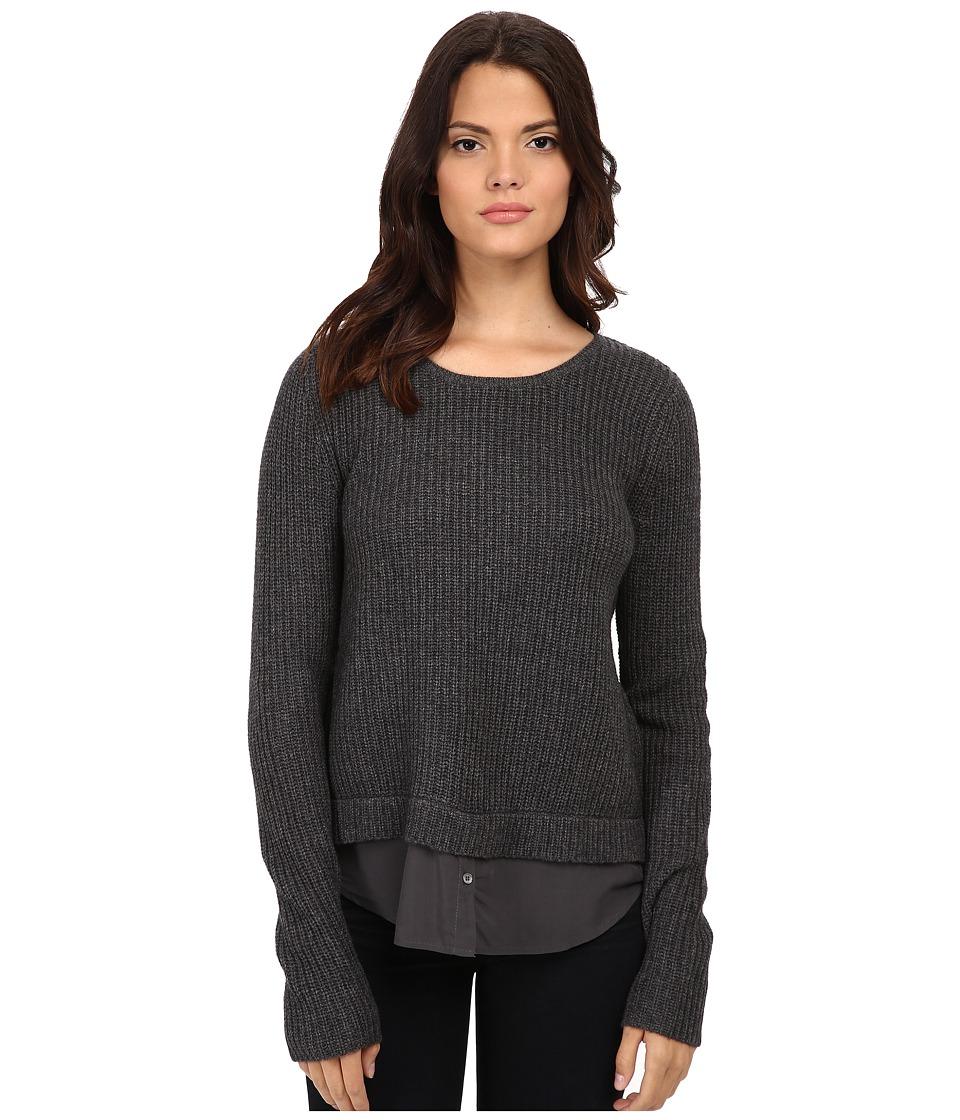 Joie - Frene B63-K1822 (Dark Heather Grey/Charcoal) Women's Sweater