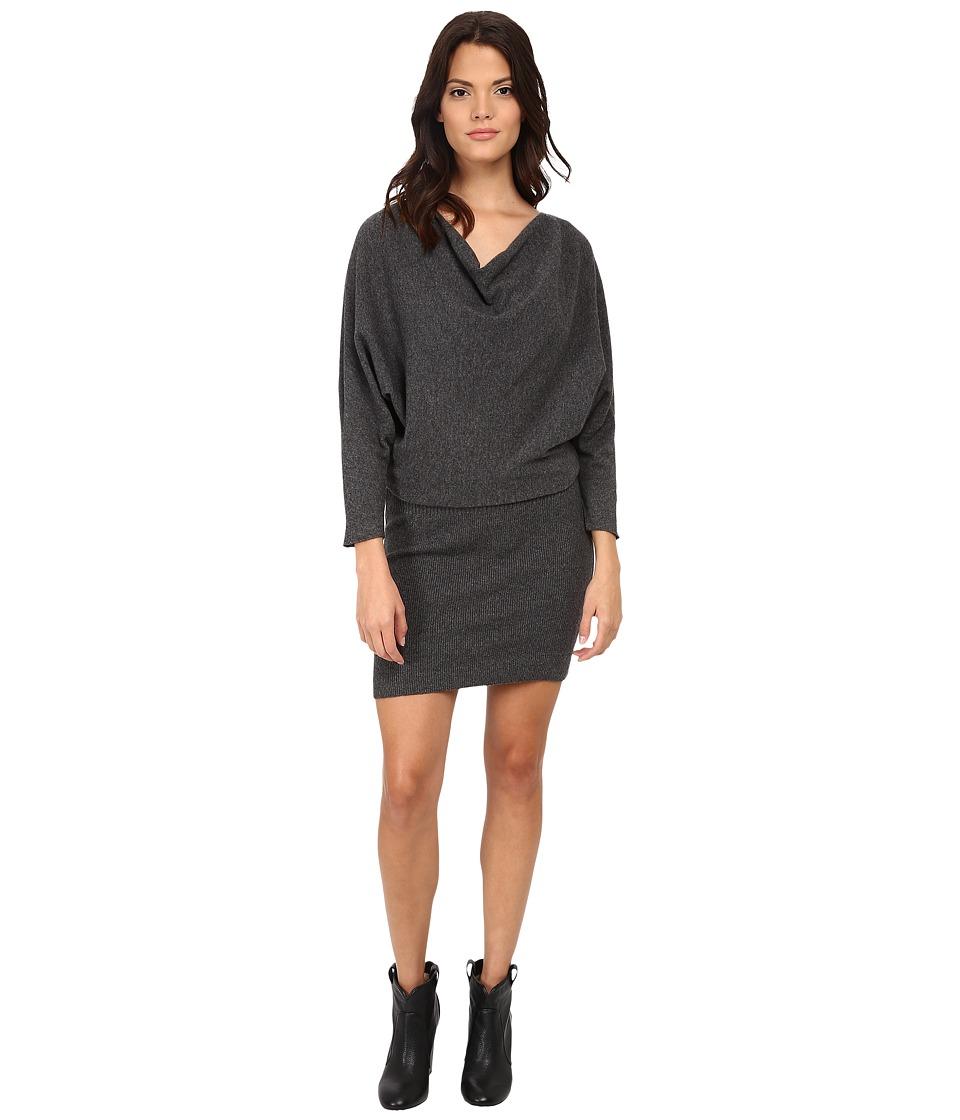 Joie - Athel B B63-K1425B (Dark Heather Grey) Women's Dress