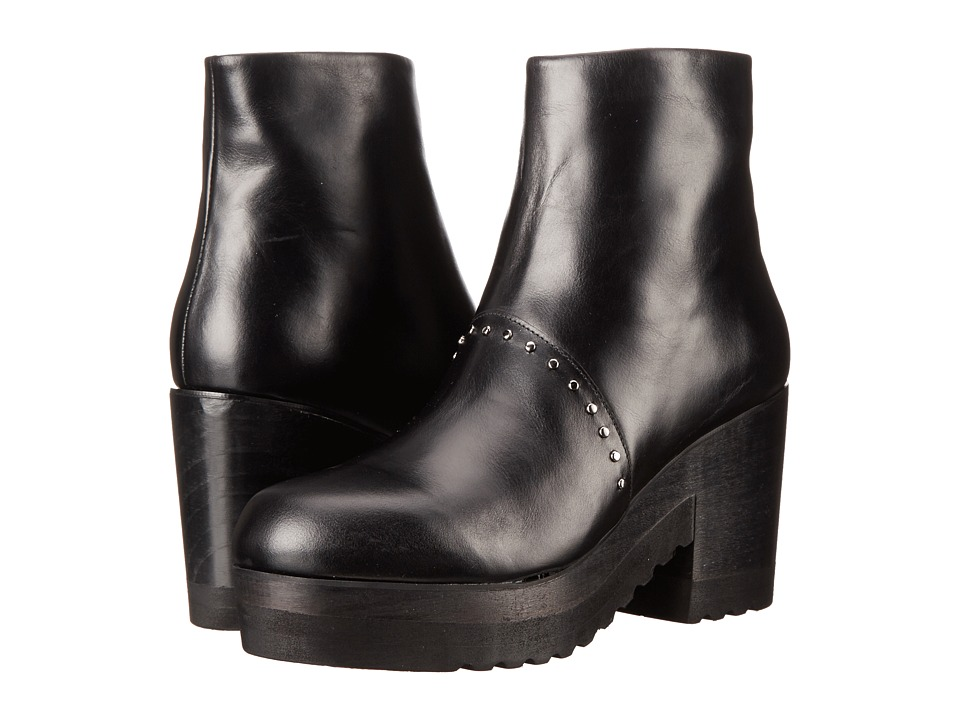 THAKOON ADDITION - Gogo 01 (Black Leather) Women's Zip Boots