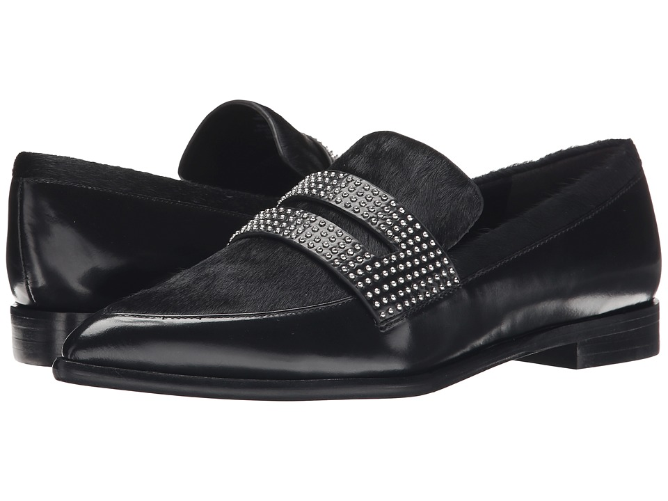 Sigerson Morrison - Inka (Black Pony) Women's Slip on Shoes