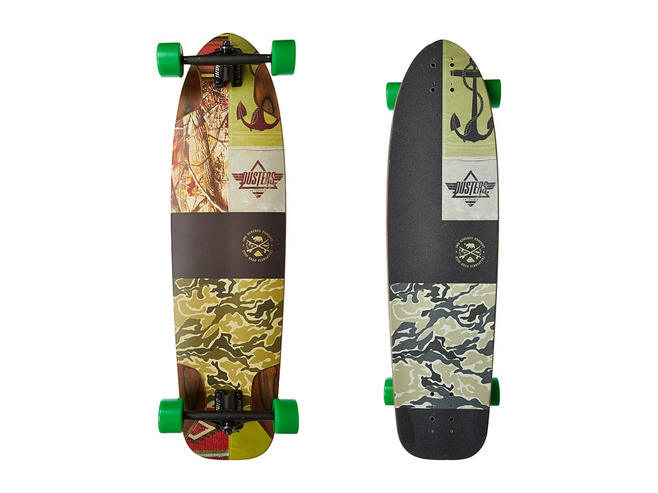 Dusters - Shooter Longboard (Kryptonics Green) Skateboards Sports Equipment