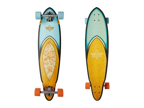 Dusters - Fin Longboard (Rose) Skateboards Sports Equipment