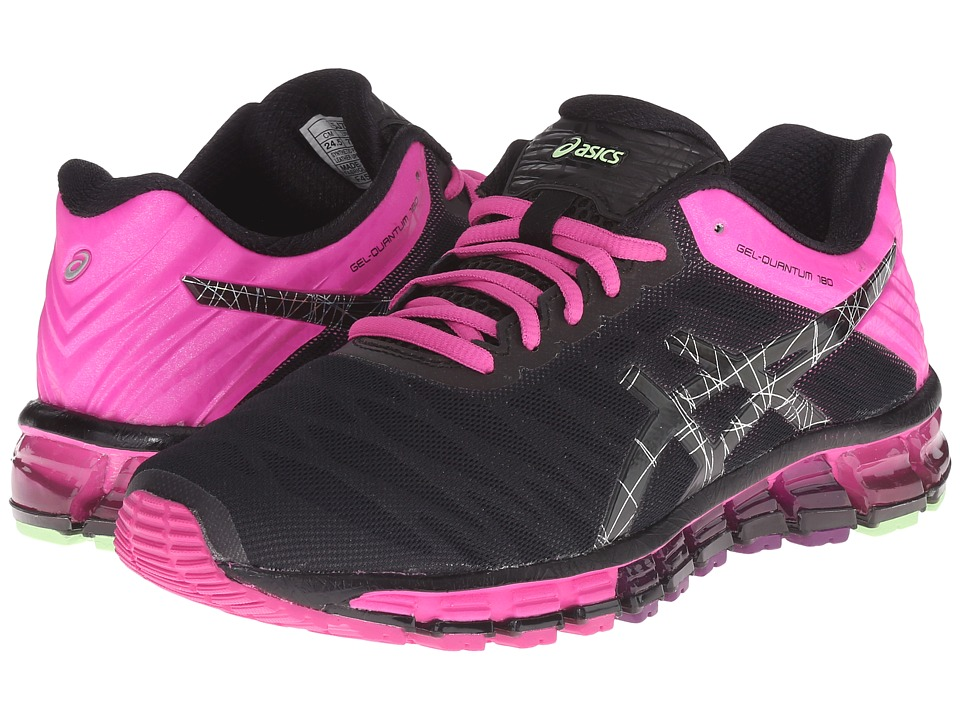 ASICS - GEL-Quantum 180 (Black/Onyx/Pink Glow) Women's Running Shoes