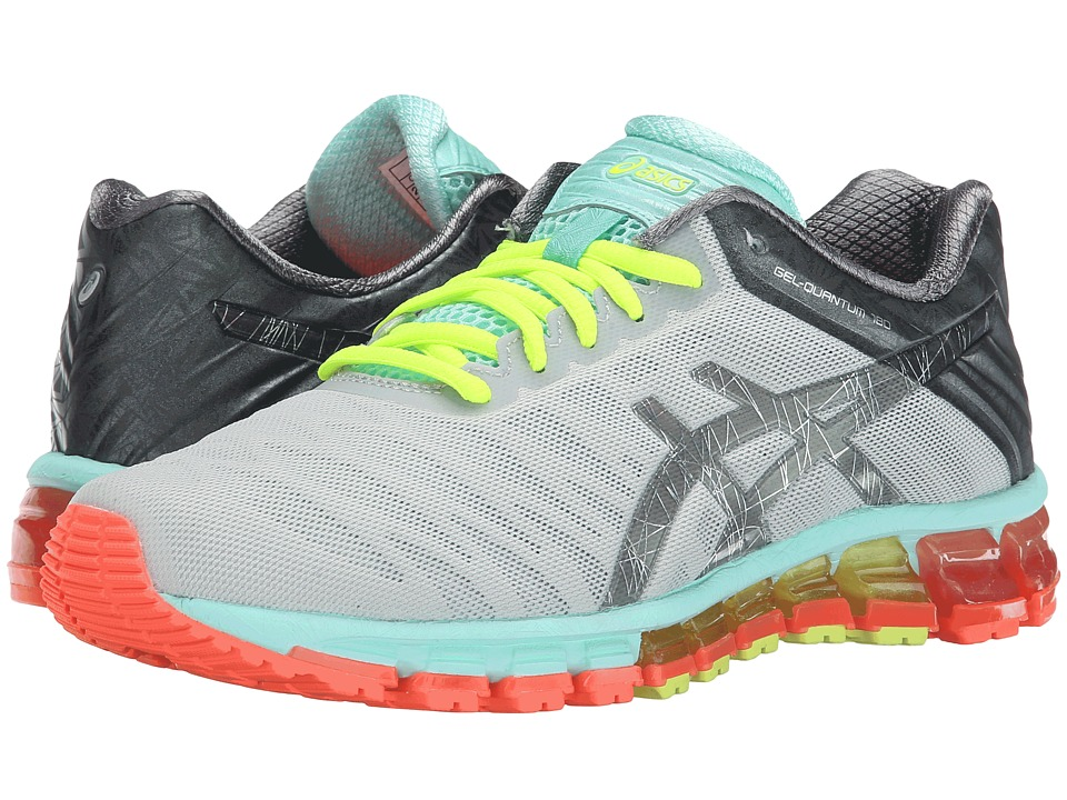 ASICS - GEL-Quantum 180 (Silver/Titanium/Mint) Women's Running Shoes