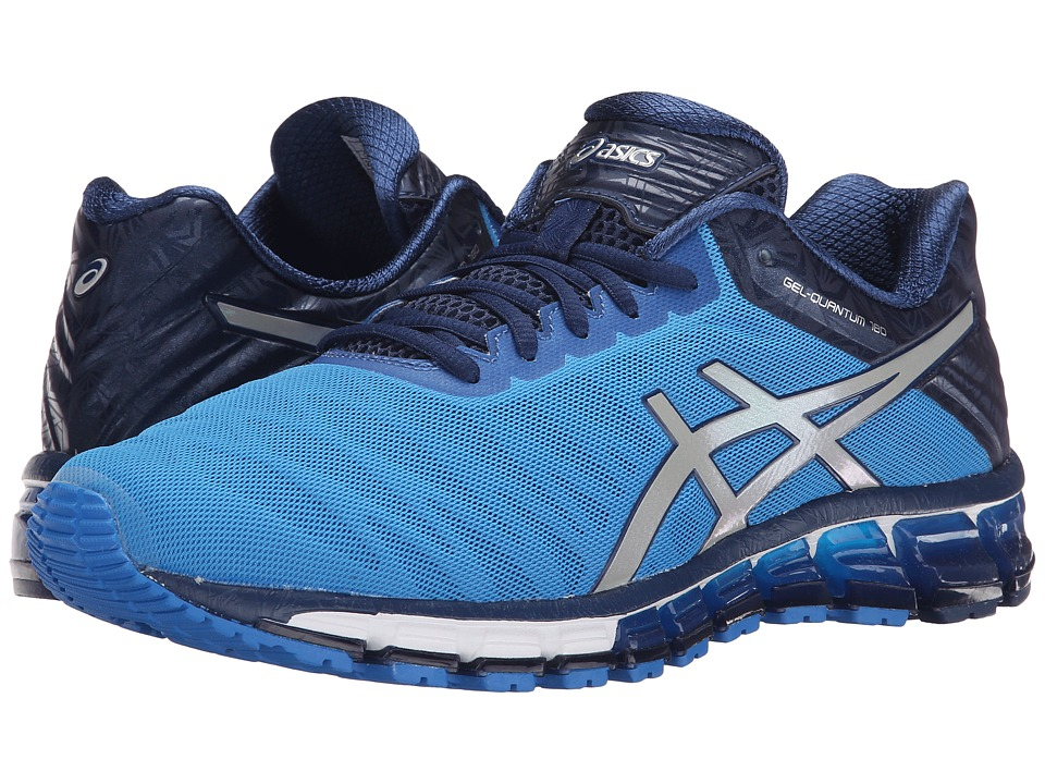 ASICS - GEL-Quantum 180 (Electric Blue/Silver/Blue) Men's Running Shoes