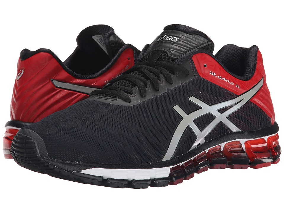 ASICS - GEL-Quantum 180 (Black/Silver/Red) Men's Running Shoes