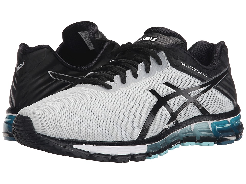 ASICS - GEL-Quantum 180 (Silver/Black/Ink Blue) Men's Running Shoes