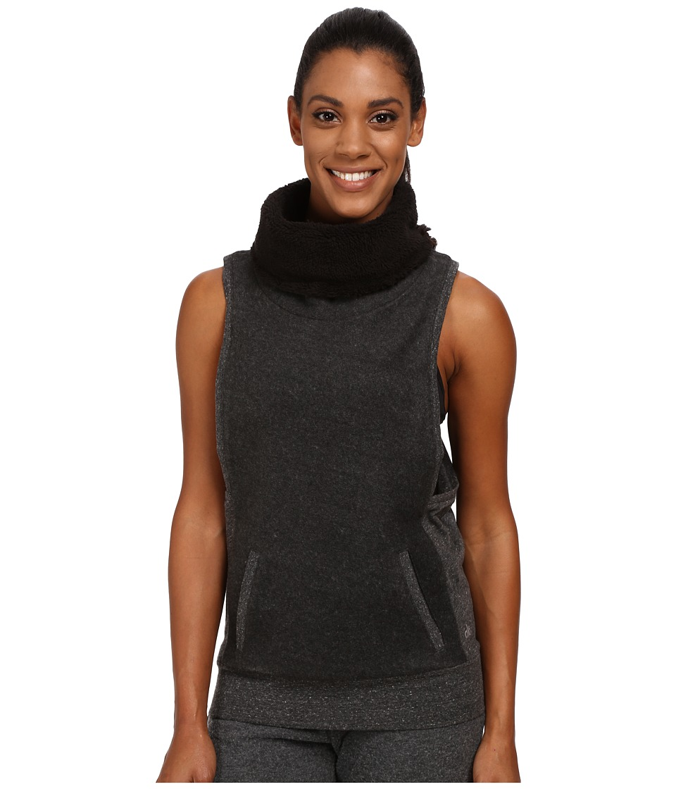 ALO - Frost Winter Vest (Dark Heather Grey) Women's Vest