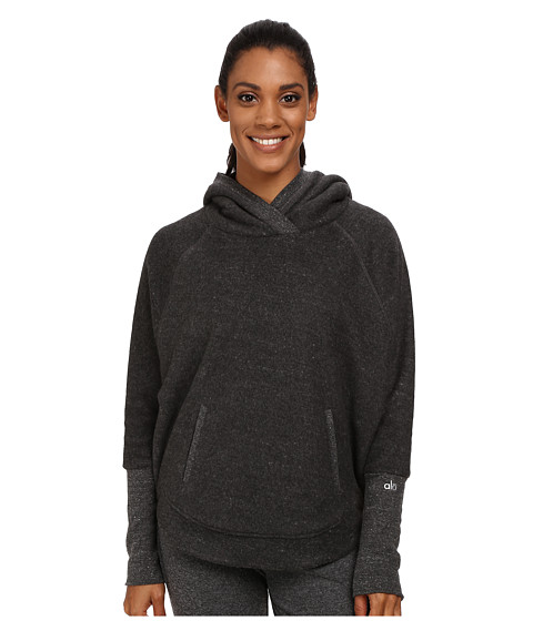 ALO - Cabin Pullover (Dark Heather Grey) Women's Long Sleeve Pullover