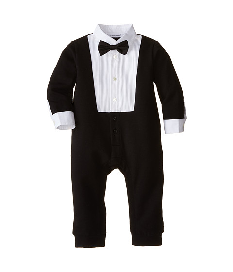 Dolce & Gabbana - Tuxedo One-Piece (Infant) (Black) Men's Jumpsuit & Rompers One Piece